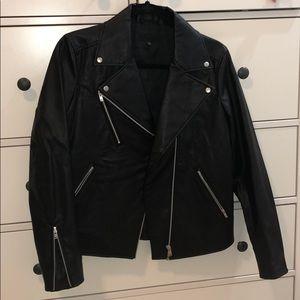 Uniqlo Faux Leather Jacket